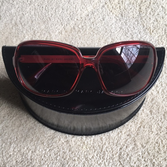 4b590eaa13fb Marc By Marc Jacobs Accessories | Red Sunglasses | Poshmark
